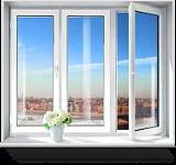 Белые пластиковые окна