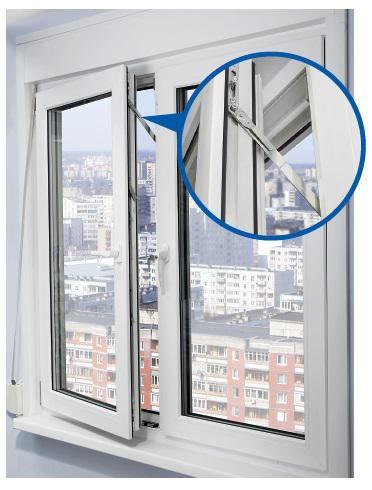 Виды защиты на пластиковые окна для безопасности детей 84
