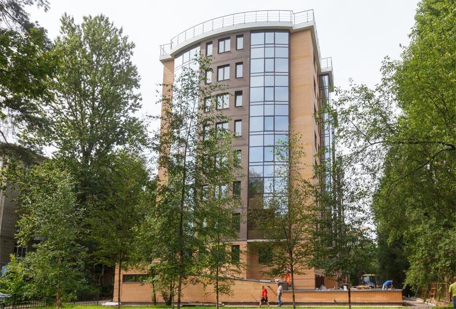 Фасадное остекление здания
